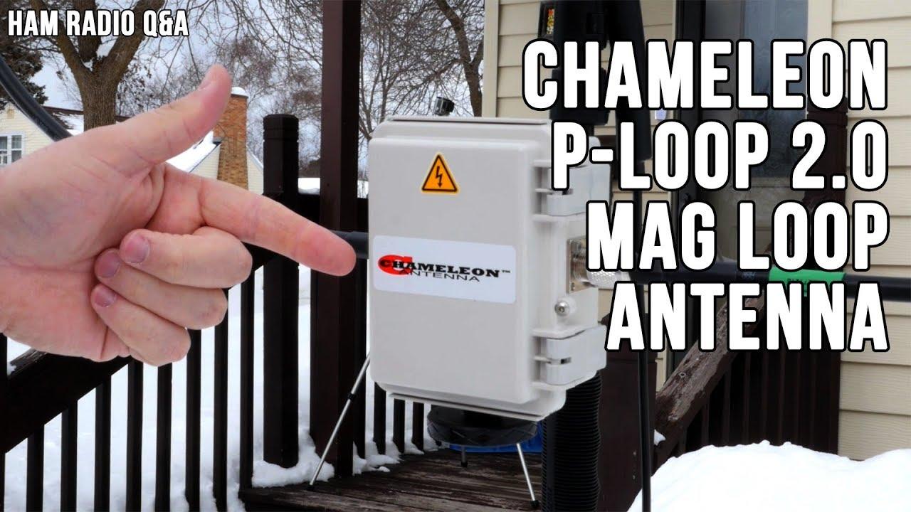 Chameleon P-Loop 2 0 Magnetic Loop Antenna | KB9VBR J-Pole Antennas
