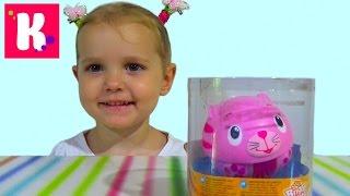 Кошечка музыкальная неваляшка распаковка игрушки unboxin educational toys musical cat dolls