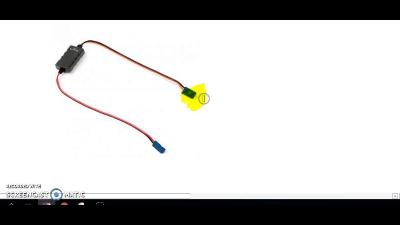 Wiring VEX Motors on