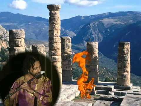 Iasos - playing electric flute with ancient Greek scales
