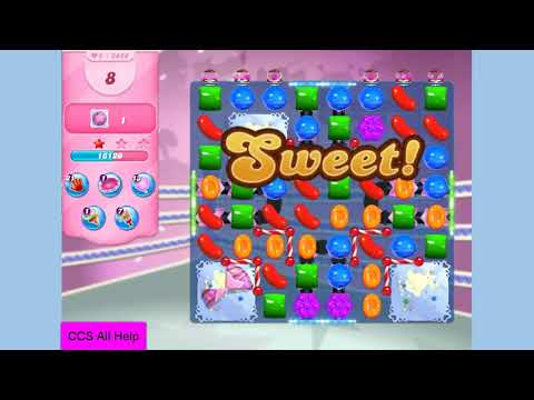 Candy Crush Saga Level 3829 NO BOOSTERS Cookie