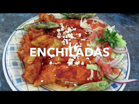 Como hacer enchiladas mas ricas - Antojitos Mexicanos - Recetas R�sticas