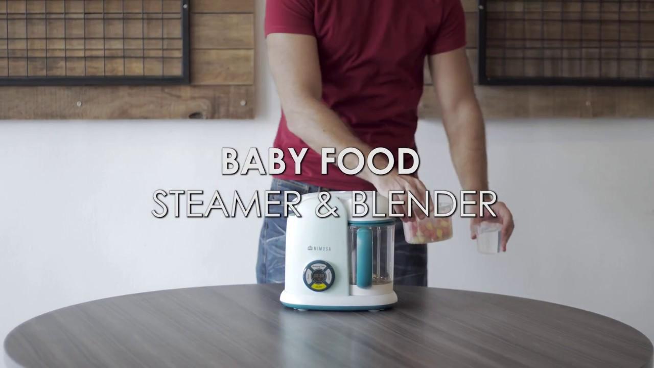 Mimosa Baby Food Steamer Blender