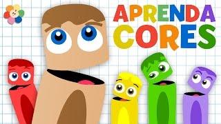 Aprender as Cores para Crianças | Colorida Desenhos Animados | BabyFirst
