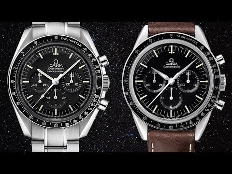 "Omega Speedmaster Professional Moonwatch vs. Omega Speedmaster Moonwatch ""First Omega in Space"""