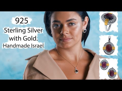 Sterling Silver Jewelry SET 💍925 Etsy Store 💎Handmade Jewellery Israel 💙qvc💎or Paz  Jewelry Business