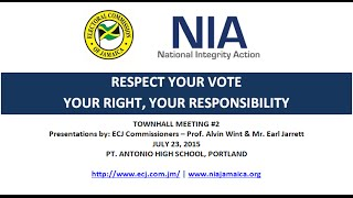 NIA-ECJ 'Respect Your Vote' Town Hall Meeting in Portland (Pt. 2)