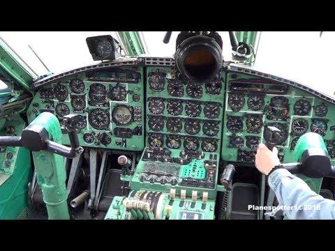 Мигалово. Осмотр самолетов и кабин АН-22 и ИЛ-76