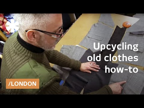Wardrobe surgery: upcycled clothing in London's Hackney