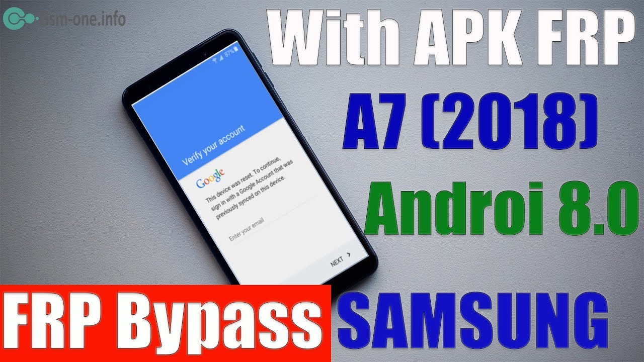 How to FRP Bypass SAMSUNG GALAXY A7 2018 (SM-A750) Android 8 0 (Free)