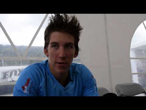 Interview w Jack Iles - Junior Men's DH at the 2014 UCI MTB World Championships