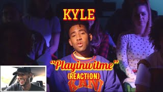 KYLE - Playinwitme feat. Kehlani [Official Music Video] 🔥 REACTION