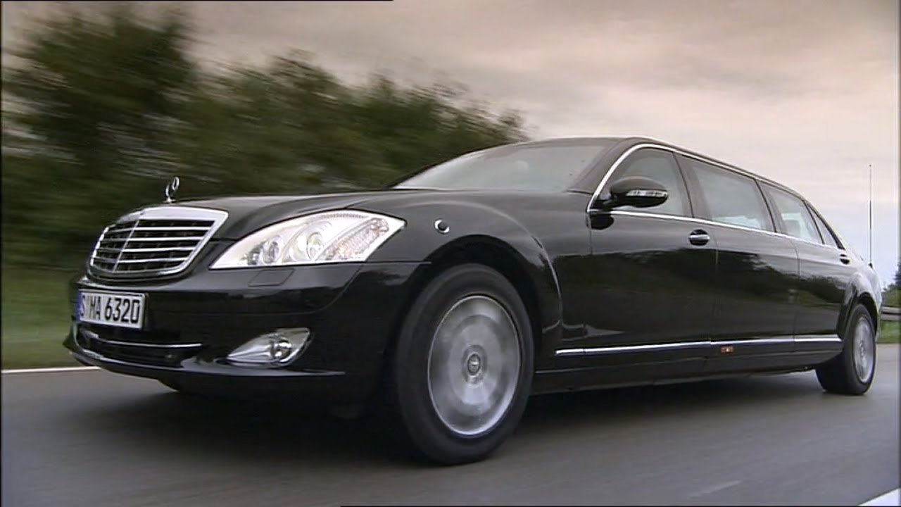 2009 mercedes benz s600 pullman guard youtube for 2009 mercedes benz s600