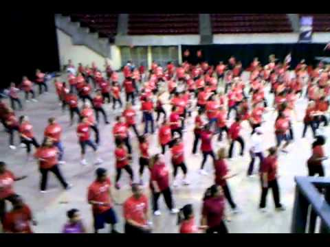 2012 Columbia SC Zumba world record attempt