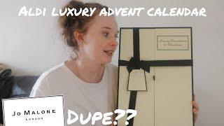 ALDI LUXURY ADVENT CALENDAR | JO MALONE DUPE??