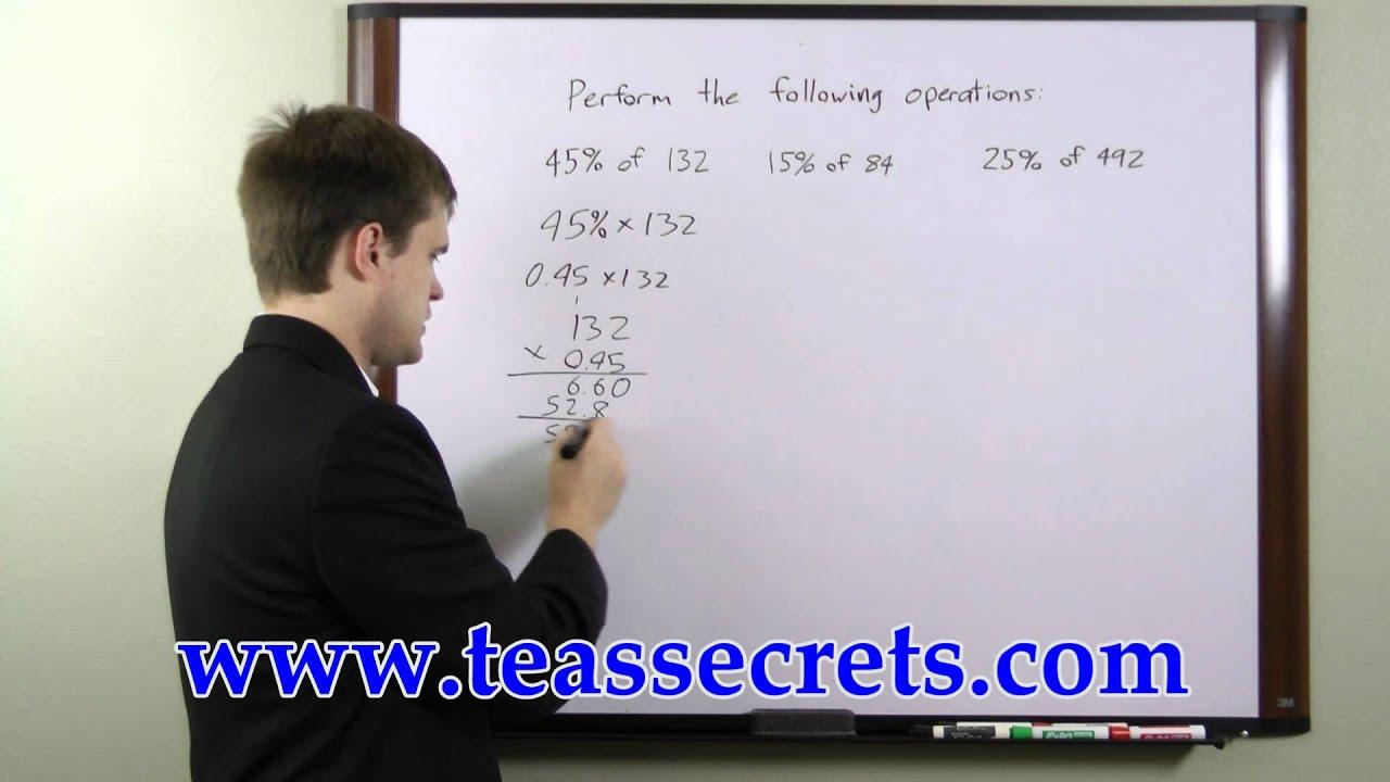 TEAS Test Practice - Free TEAS Math Tips - YouTube