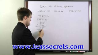 TEAS Test Practice -  Free TEAS Math Tips
