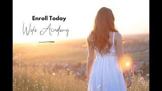 Wife Academy Testimonials