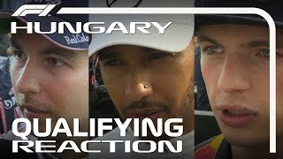 2018 Hungarian Grand Prix: Qualifying Reaction