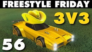 vuclip Freestyle Friday 56 | 3v3 Rocket League Goals & Fails