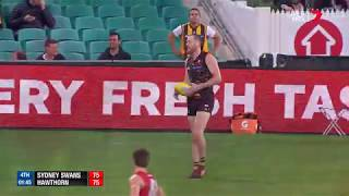 Roughead kicks the winning goal - AFL