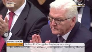 Norbert Lammert zerstört die AfD (Bundespräsidentenwahl 2017)