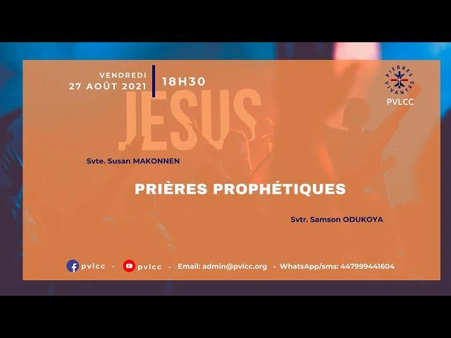 PRIERES PROPHETIQUES
