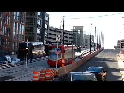 H Street NE D.C. Streetcar Testing