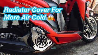 Honda Click 150i | Radiator Cover For Cold Engine | DIY