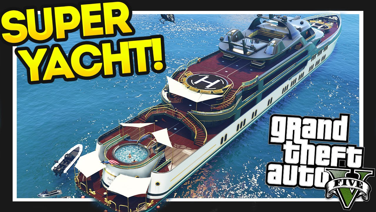 how to buy a yacht gta 5