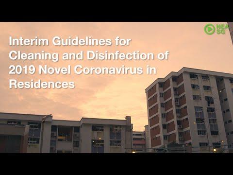 .非醫療機構的環境對 SARS-CoV-2 的清潔臨時指南