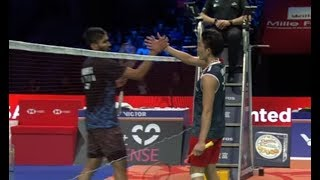 【Highlight】桃田賢斗Kento MOMOTA vs KIDAMBI Srikanth【Denmark Open 2018】