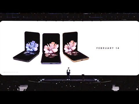 Samsung's Full Galaxy Unpacked 2020 Livestream (Z Flip, S20 Phones Announced)