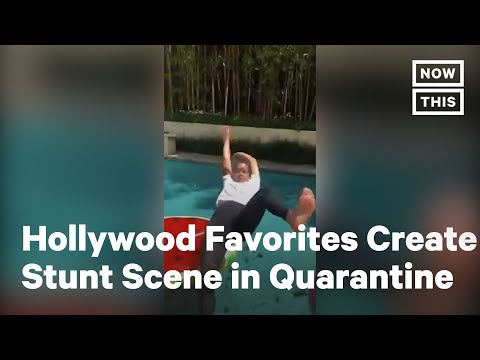 Actors & Stuntpeople Stage Epic Virtual Fight Sequence | NowThis