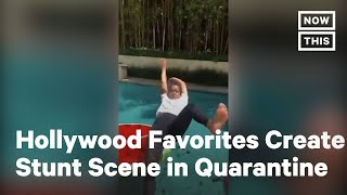 Actors & Stuntpeople Stage Epic Virtual Fight Sequence   NowThis