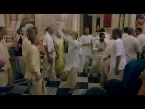 Beautiful Dance By Foreign Devotees In Iskcon Temple Vrindavan