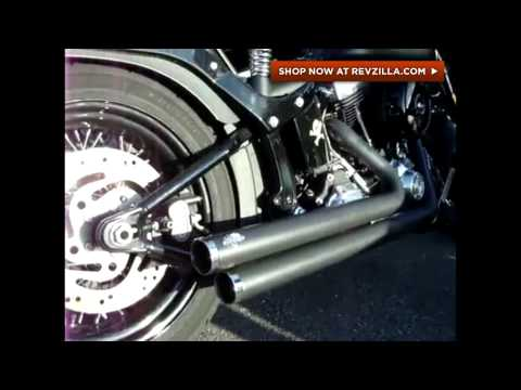 Thumbnail for Vance & Hines Big Shots Staggered Exhaust