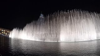The Dubai Fountains- Celine Dion & Andrea Bocelli The Prayer [1080p 60FPS]