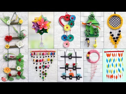 10 Amazing Wall Hanging Ideas You Should Try at Home !!!