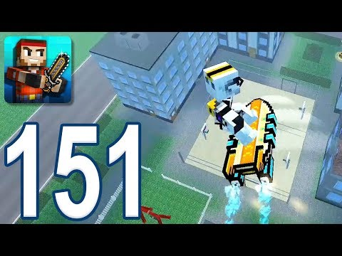 Pixel Gun 3D - Gameplay Walkthrough Part 151 - Battle Royale (iOS, Android)