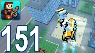 Pixel Gun 3D - Gameplay Walkthrough Part 151 - Battle Royale (iOS, Android)