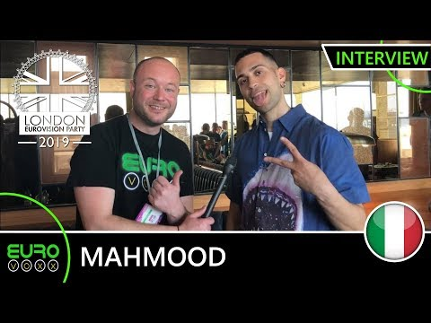 ITALY EUROVISION 2019: Mahmood 'Soldi' (INTERVIEW) | London Eurovision Party 2019