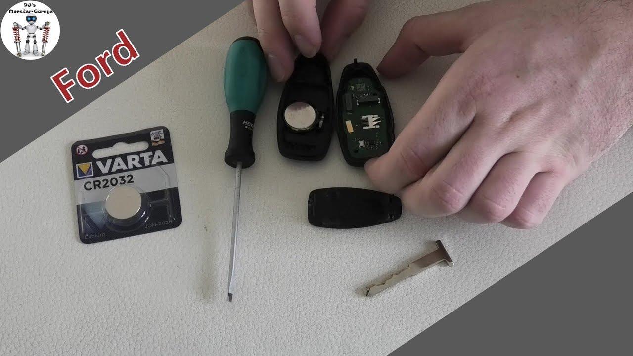 Ford Keyless Go Schlussel Batterie Wechseln Focus Rs Tutorial Anleitung Youtube
