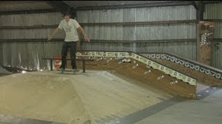 Skating Ramps For Beginners : Skateboarding