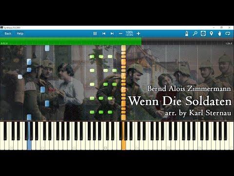 Wenn Die Soldaten (piano Arr. By Karl Sternau For 3 Hands) W/ Sheet Music