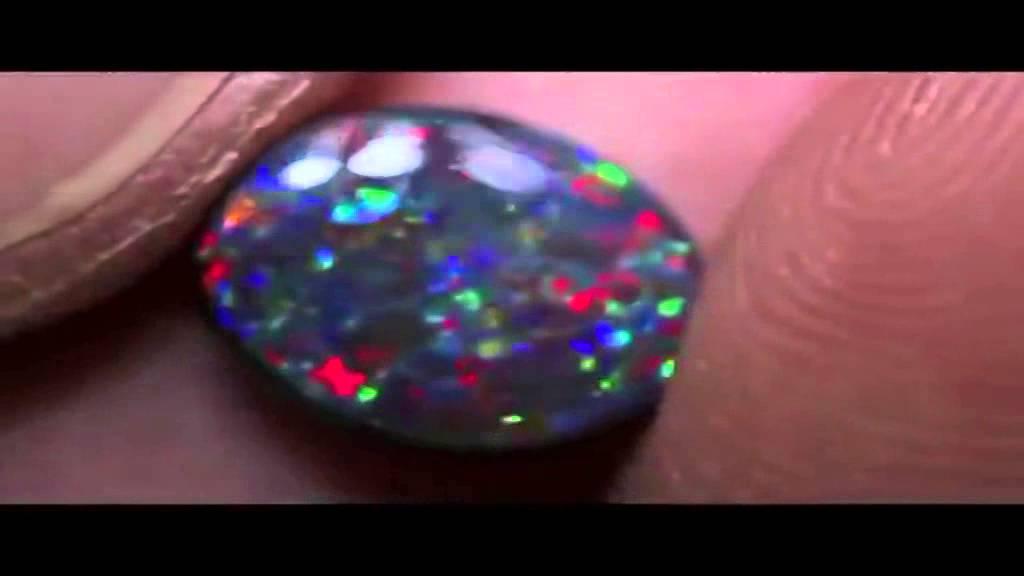 Natural Bolder Opal. Натуральный болдер опал. - YouTube