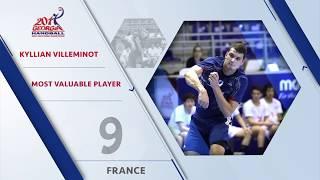 Kyllian Villeminot (FRA) - Most Valuable Player (MVP) | IHFtv - Georgia 2017 Men