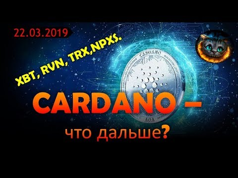 Cardano(ADA) - новые горизонты. Bitcoin(XBT), TRX, RVN, NPXS - обзор.
