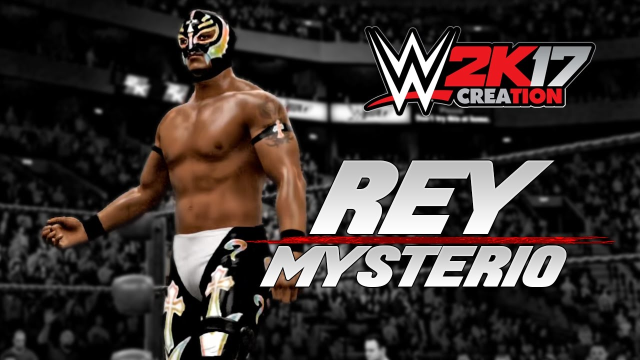 Wwe 2k17 Caw Creation Rey Mysterio Youtube