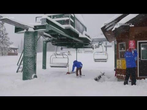 Idaho Ski Resorts Welcome Fresh Snow As They Prepare To Open For Thanksgiving Weekend